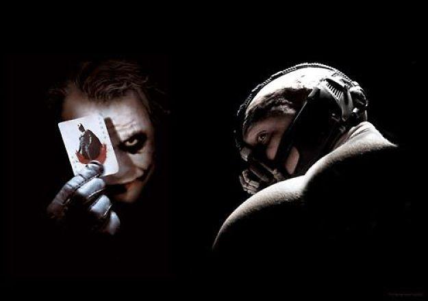 Better Dark Knight villain? Bane vs Joker