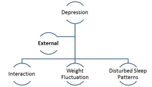 External Symptoms of depression.