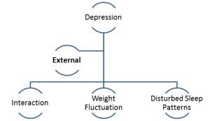 External Symptoms of depression.